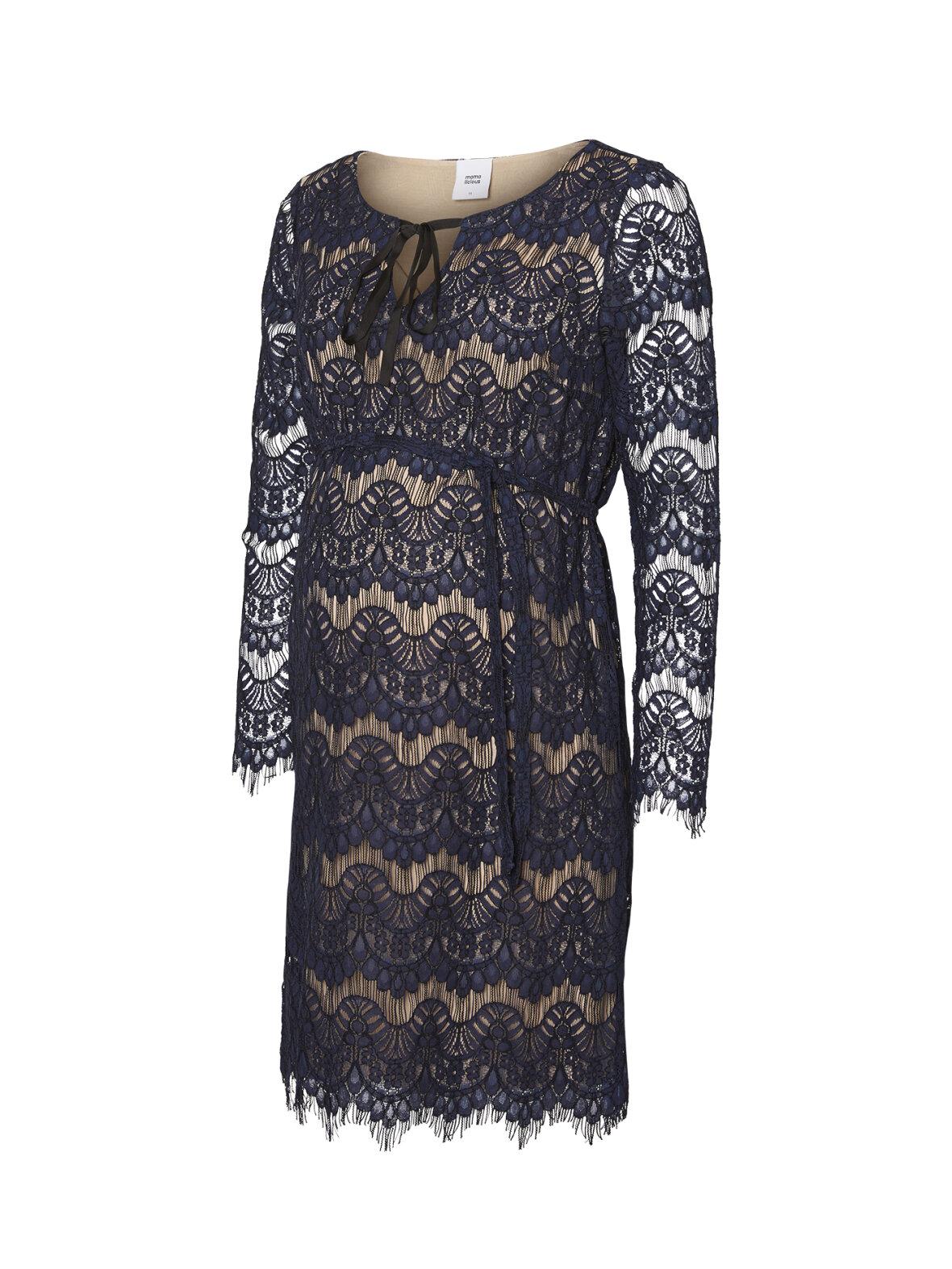 022155330ea4 Mamalicious - Nardin blonde kjole · Mamalicious - Nardin blonde kjole ...