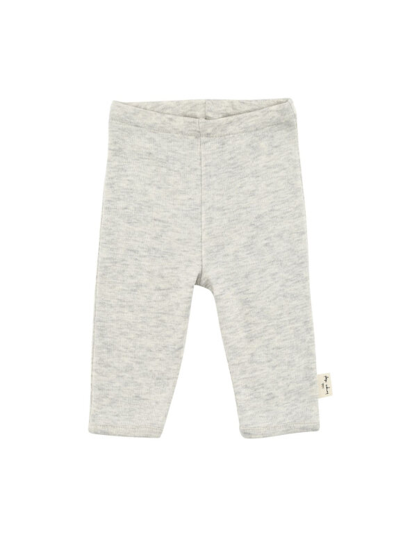 Konges sløjd - Leggings - Ligth grey melange