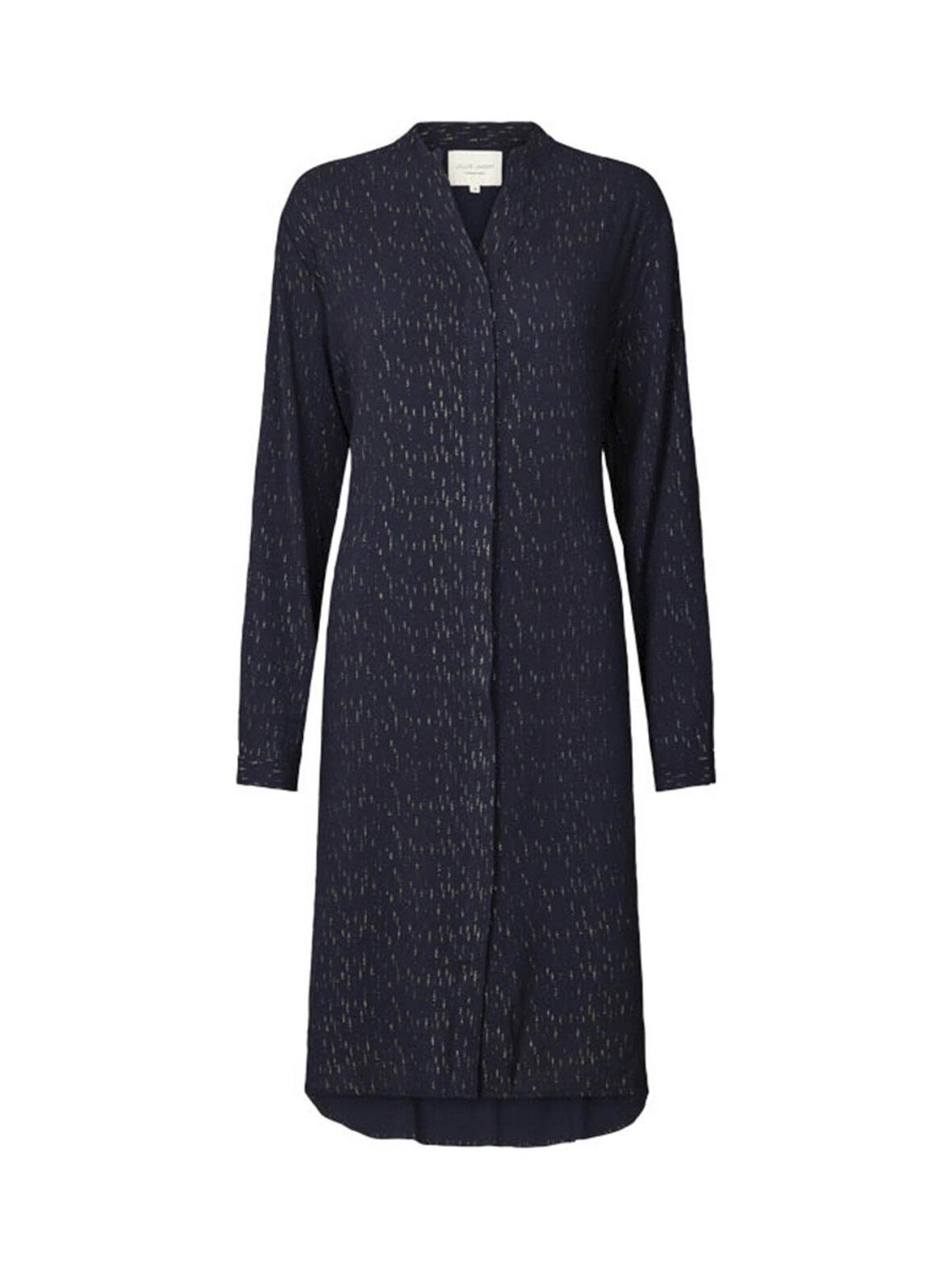 a465a24b Enula9 - Gravid kjoler - Lollys Laundry - French dress - navy