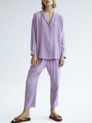 Kokoon - Py crop pants - purple