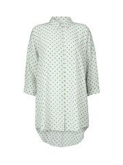 Kokoon - Bianca shirt - green dots