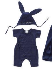 Oeuf NYC - Baby svøbesæt, navy