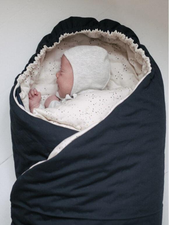 Konges sløjd - Nemuri kapok sovepose + bærebrædt