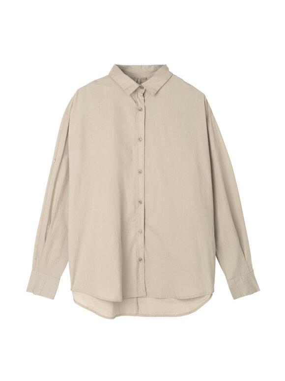 AIAYU - Shirt - Beige
