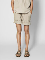 AIAYU - Shorts long - beige