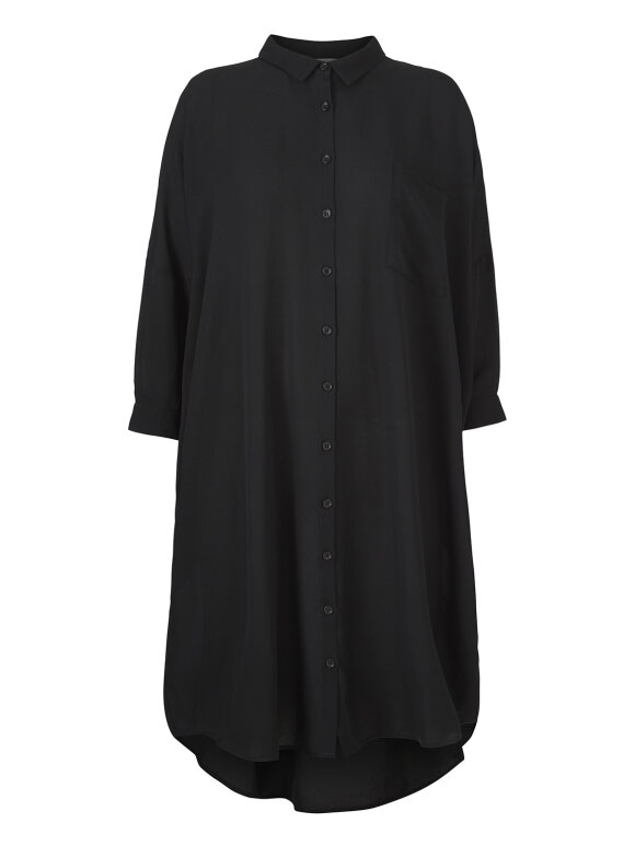 Kokoon - Oversize shirt dress - black
