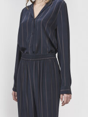 Kokoon - jamie shirt pinstripe navy