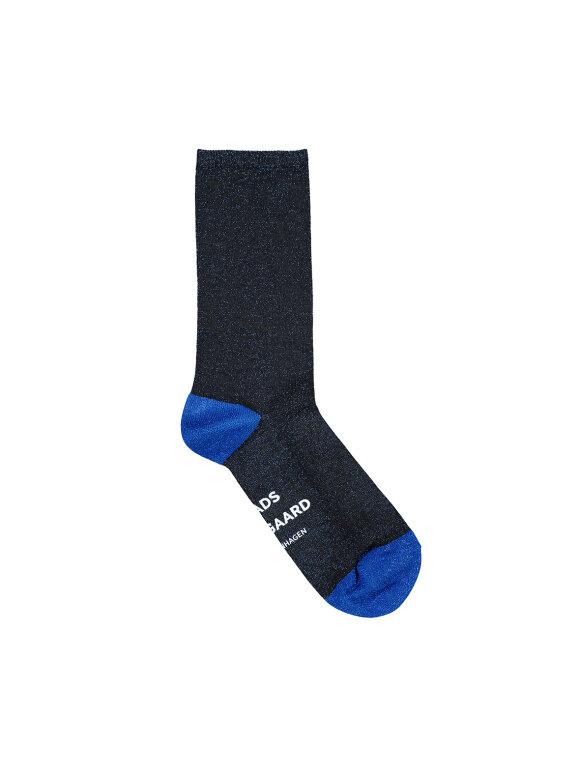 Mads Nørgaard - Sparkly Aia sokker navy