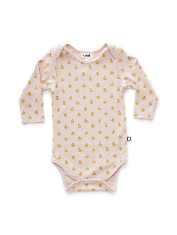 Oeuf NYC - body onesie apples