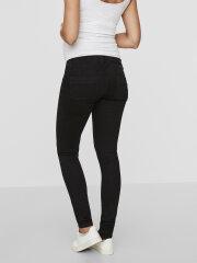 Mamalicious - Lola gravid jeans w. bumpband, sort, 8774