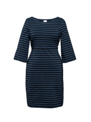 Boob - Simone dress navy and blue stripes