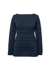 Boob - Simone long sleeve top, blå stribet
