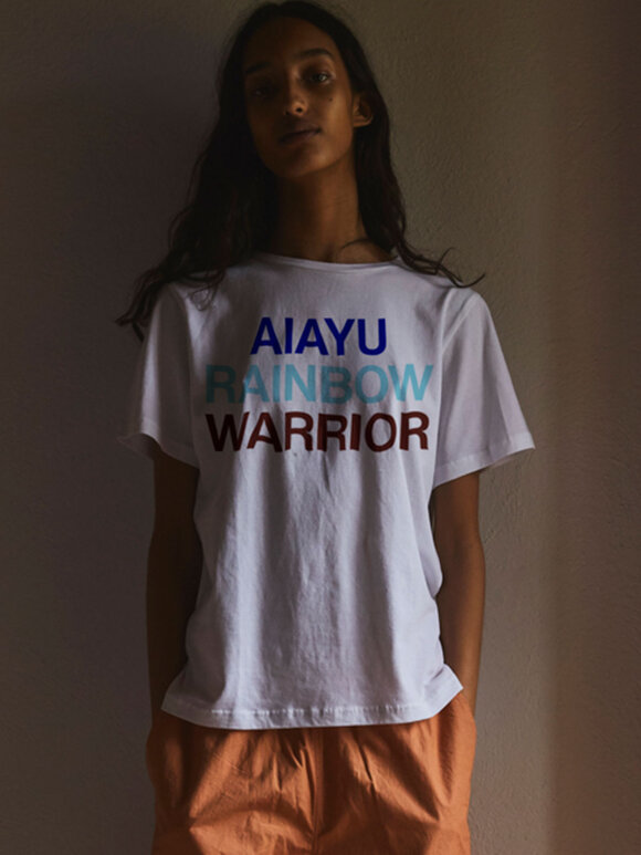 AIAYU - Warrior Printed tee, Albicant