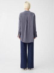 Kokoon - Elvin Shirt, blue stipe print