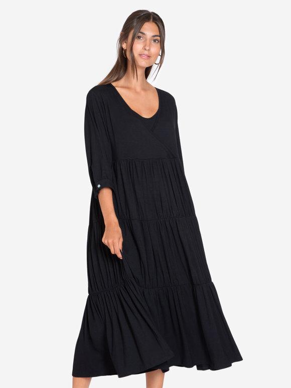Milker - ZIA maxi kjole, sort