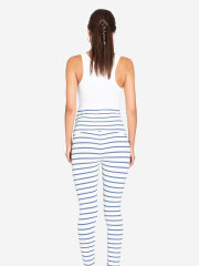 Milker - SUSAN legging, blå stribet