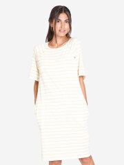 Milker - Selma kjole, gul stribet
