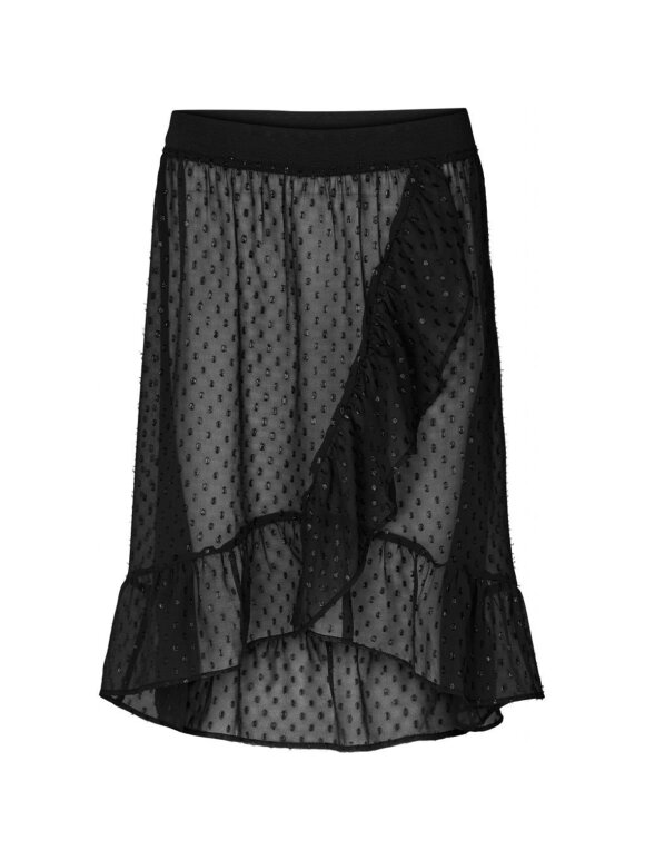 Lollys Laundry - Bertha Skirt, Washed Black