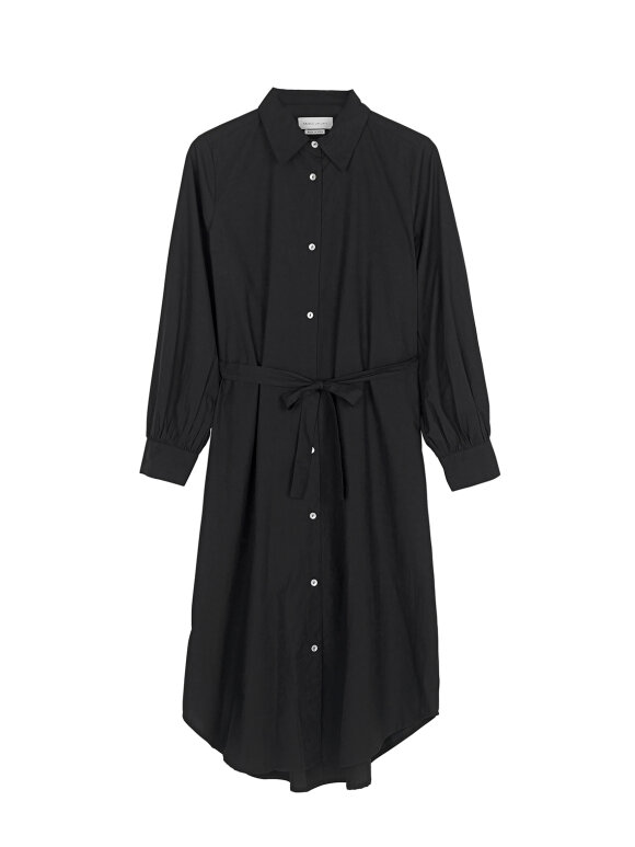 Skall Studio - Rose Shirtdress, Sort
