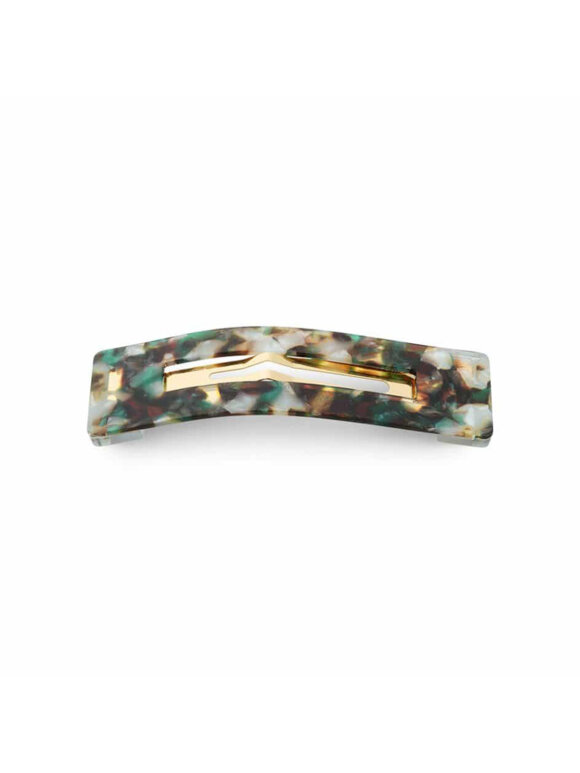 Sui Ava - Spænde marmor green