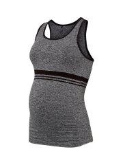 Mamalicious - Active Tank Top, Grey