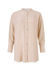 Kokoon - Mandarin shirt - Antique rose