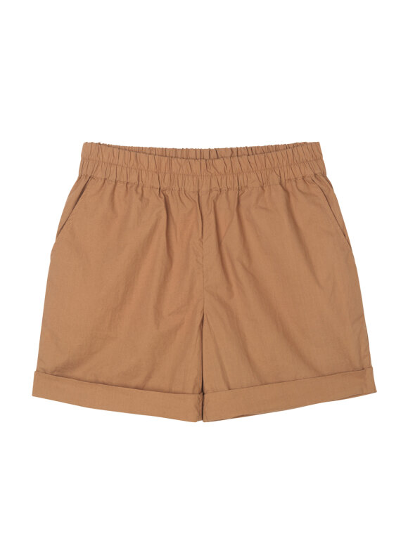AIAYU - Shorts Long Tabacco