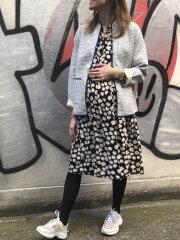 Nué Notes - Mila Shadow Dress, Flower black