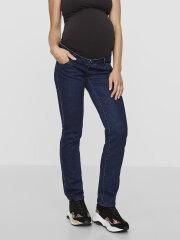 Mamalicious - Lola straight jeans unwashed 9579