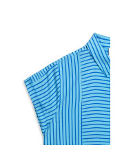 Mads Nørgaard - Striped Viscose Daxy, Blue/Blue