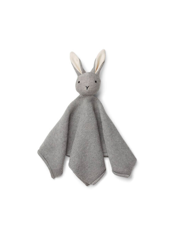 Liewood - Milo knit cuddle cloth - rabbit