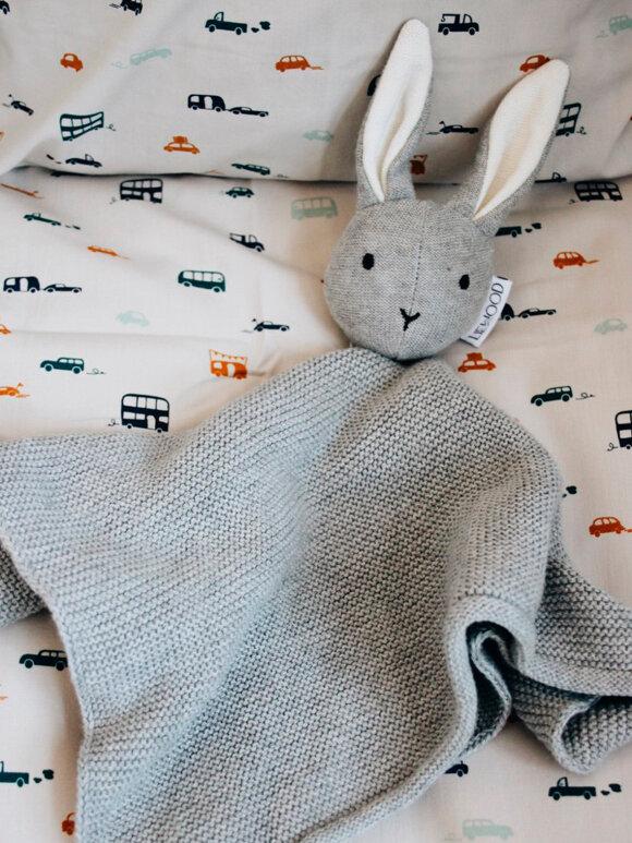 Liewood - Milo knit cuddle cloth - rabbit