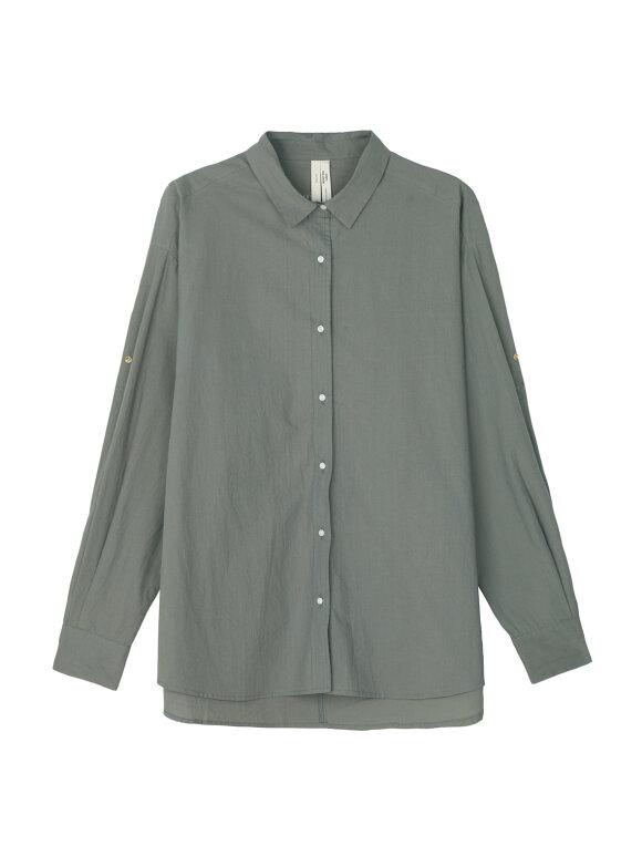 AIAYU - Circle Shirt - Khaki