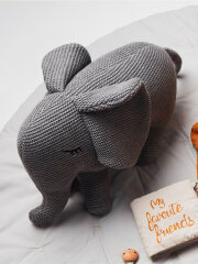 Liewood - Dextor Knit teddy, Elephant grey