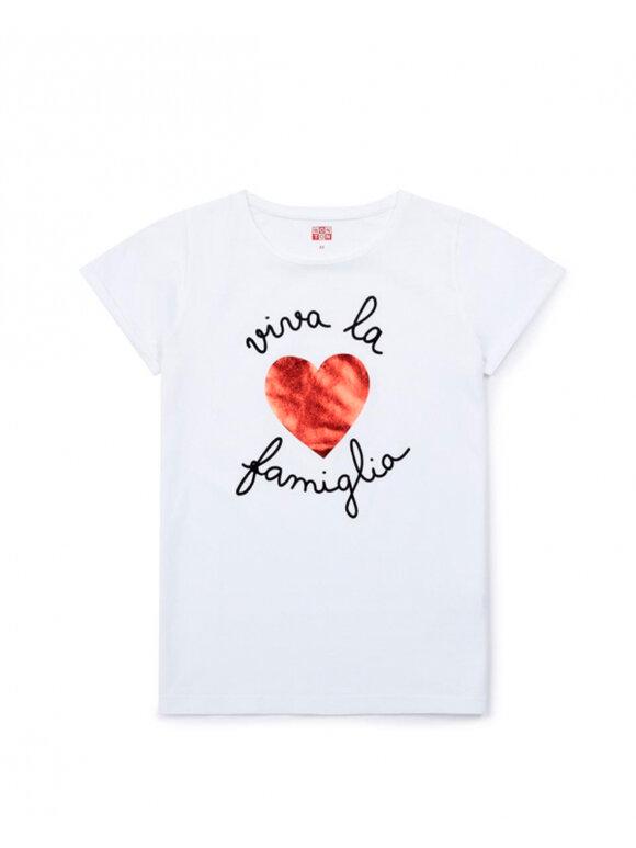 Bonton - T-shirt Viva la famiglia