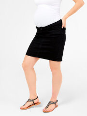 Mamalicious - Lola Slim Skirt, Sort