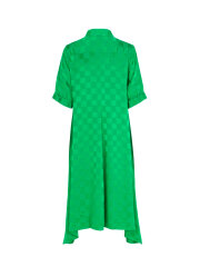 Mads Nørgaard - Check viscose dancella dress, green