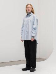AIAYU - Shirt - blue glass