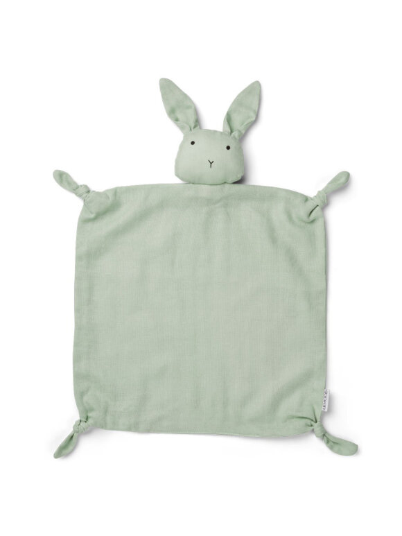 Liewood - Agnete cuddle cloth - rabbit dusty mint