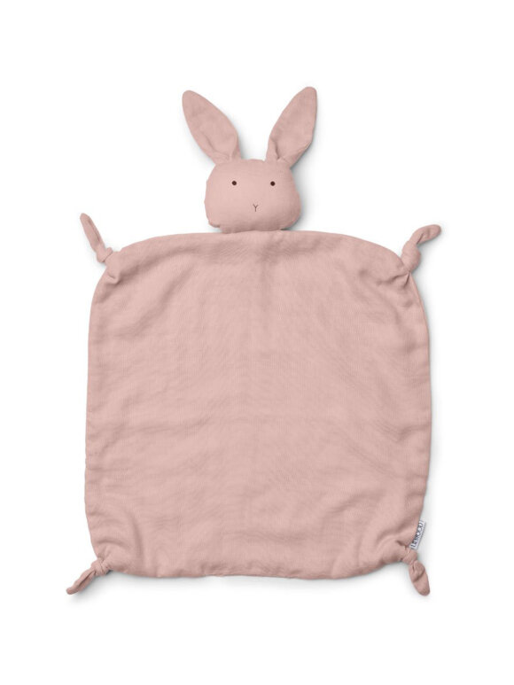 Liewood - Agnete cuddle cloth - rabbit rose