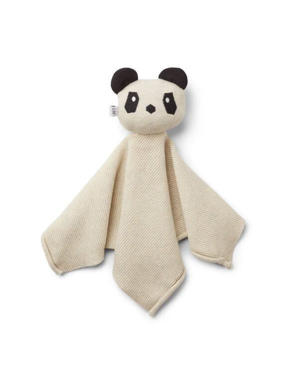 Liewood - Milo knit cuddle cloth - panda