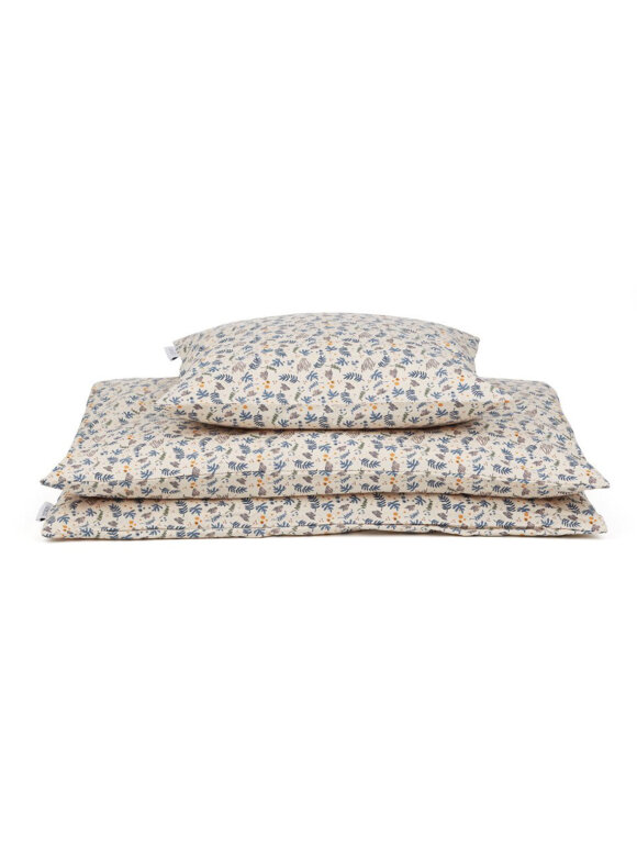 Liewood - Carmen baby bedding - coral floral/mix