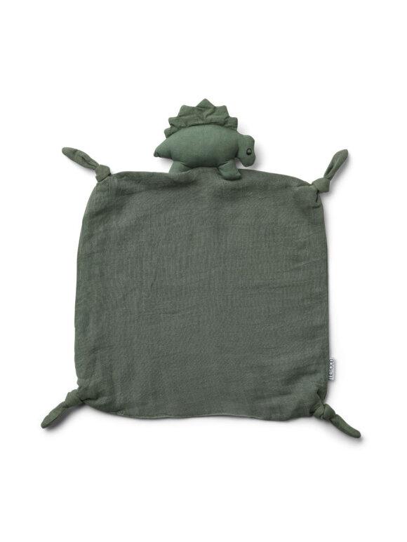 Liewood - Agnete cuddle cloth - dino faune green