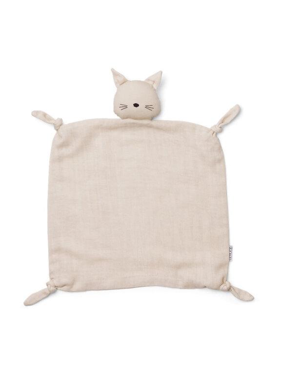 Liewood - Agnete cuddle cloth - cat beige beauty