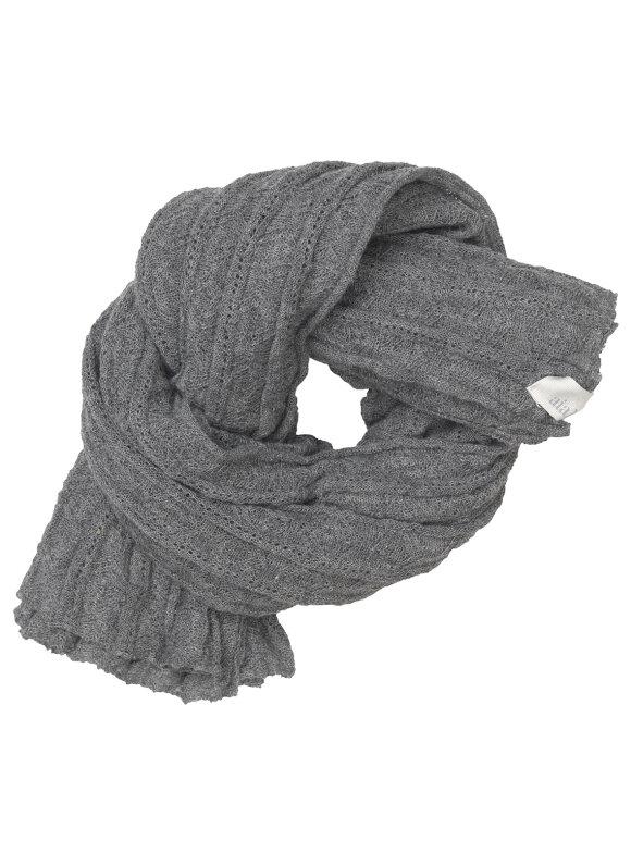 AIAYU - Emelie scarf - grey melange