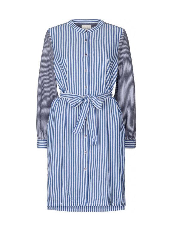 Lollys Laundry - Vega shirtdress - blue