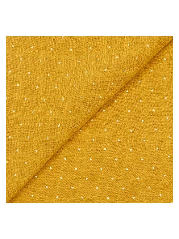 Bonton - Stofble - ambre/golden dot