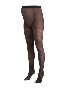 Queen Mum - Maternity tights - flowers