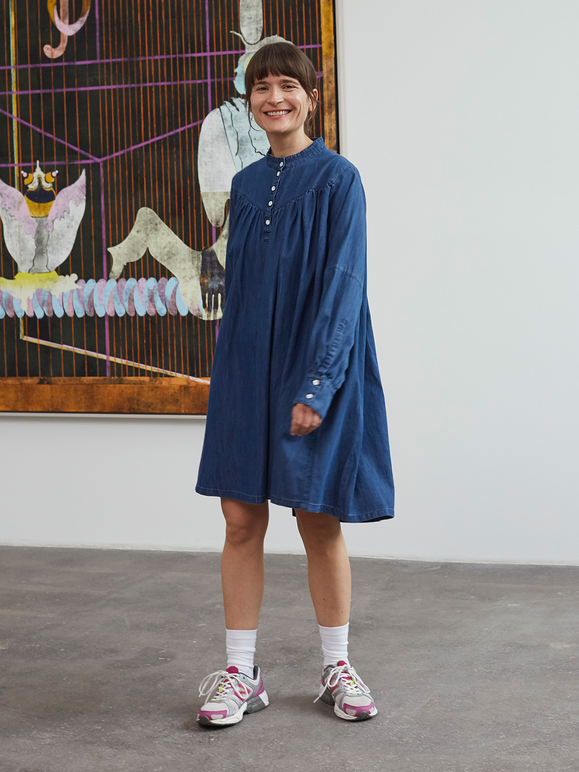 Enula9 UDSALG Mads Nørgaard Dallas organic denim dress