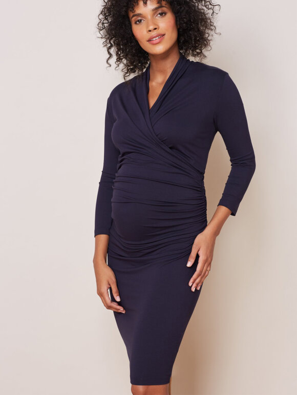 Isabella Oliver - Balcombe dress - classic navy